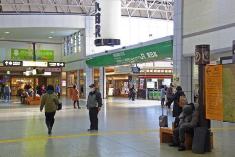 小田原駅JR改札口前