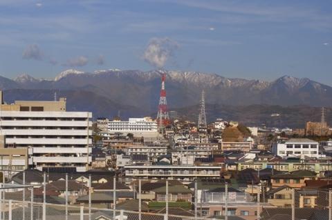 小田原市役所7階からの眺め
