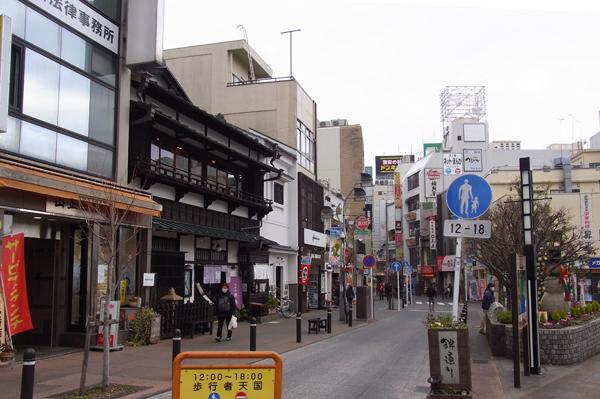 小田原錦通り入口