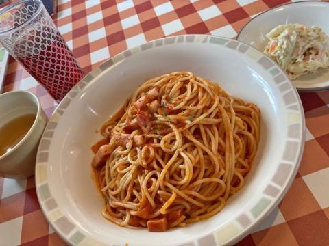 サイゼリヤのスパゲッティアラビアータ