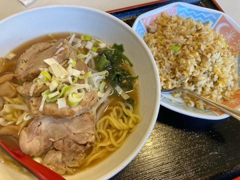 香港小厨のチャーシューメンセット