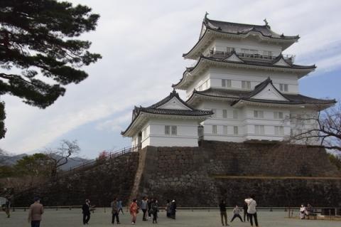 2月下旬の小田原城