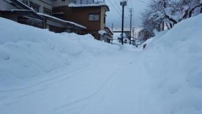 増田小学校裏通り