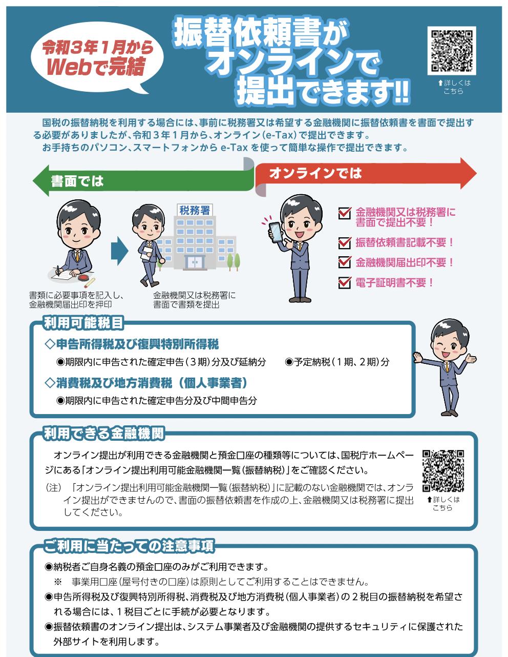 振替依頼書オンライン001