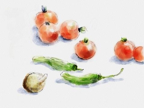 小さな野菜達