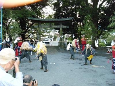 高木獅子舞2