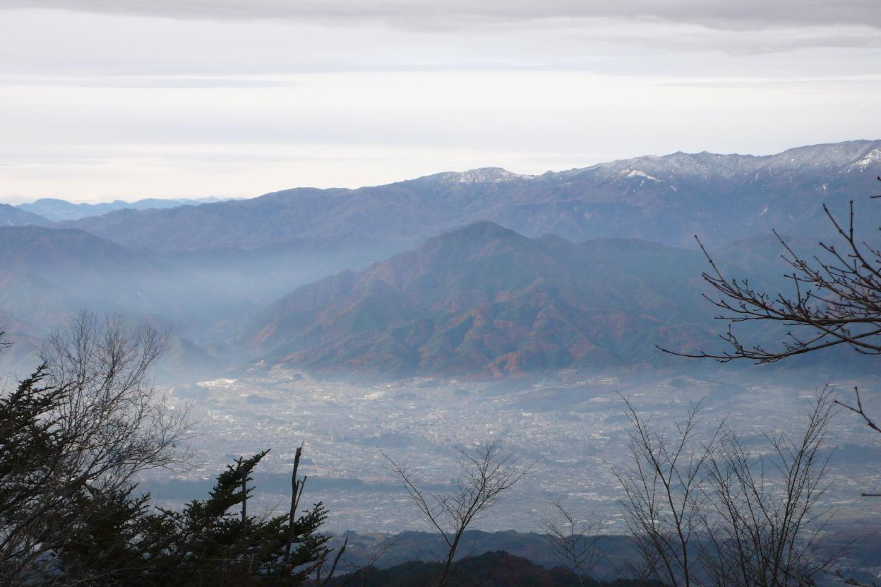 小川路峠 から飯田市内(1)