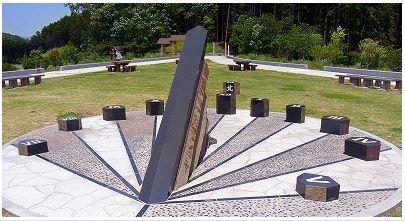 2012 05 日時計_あさひ山展望公園