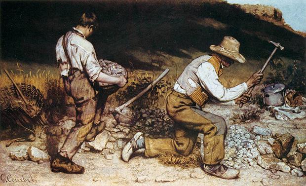 1849 ドレスデン 石割り