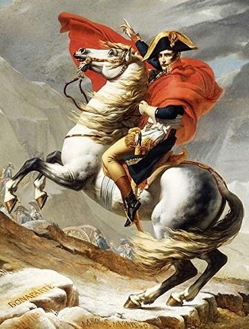 サンベルナール峠のナポレオン ダヴィッド1748~1825