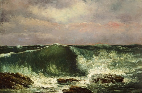 Gustave_Courbet_-_Waves_-_Google_Art_Project 1870 エトルタ (2)ばら