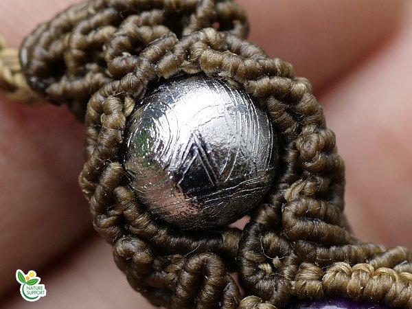 スギライト×ギベオン隕石×ブルースモーククォーツ