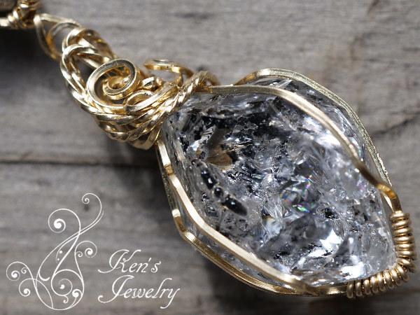 ダイヤモンド×ハーキマーダイヤモンド