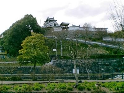福知山城全景