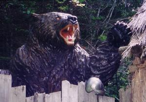 三毛別事件のクマ
