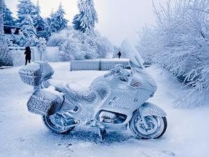冷凍バイク