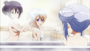 お風呂シーン