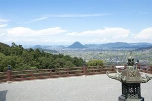 讃岐富士が見える