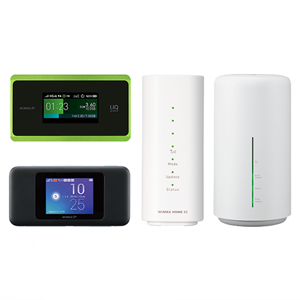 WiMAX端末達