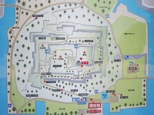丸亀城マップ