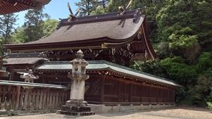 吉備津彦神社本殿