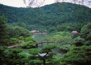栗林公園と紫雲山