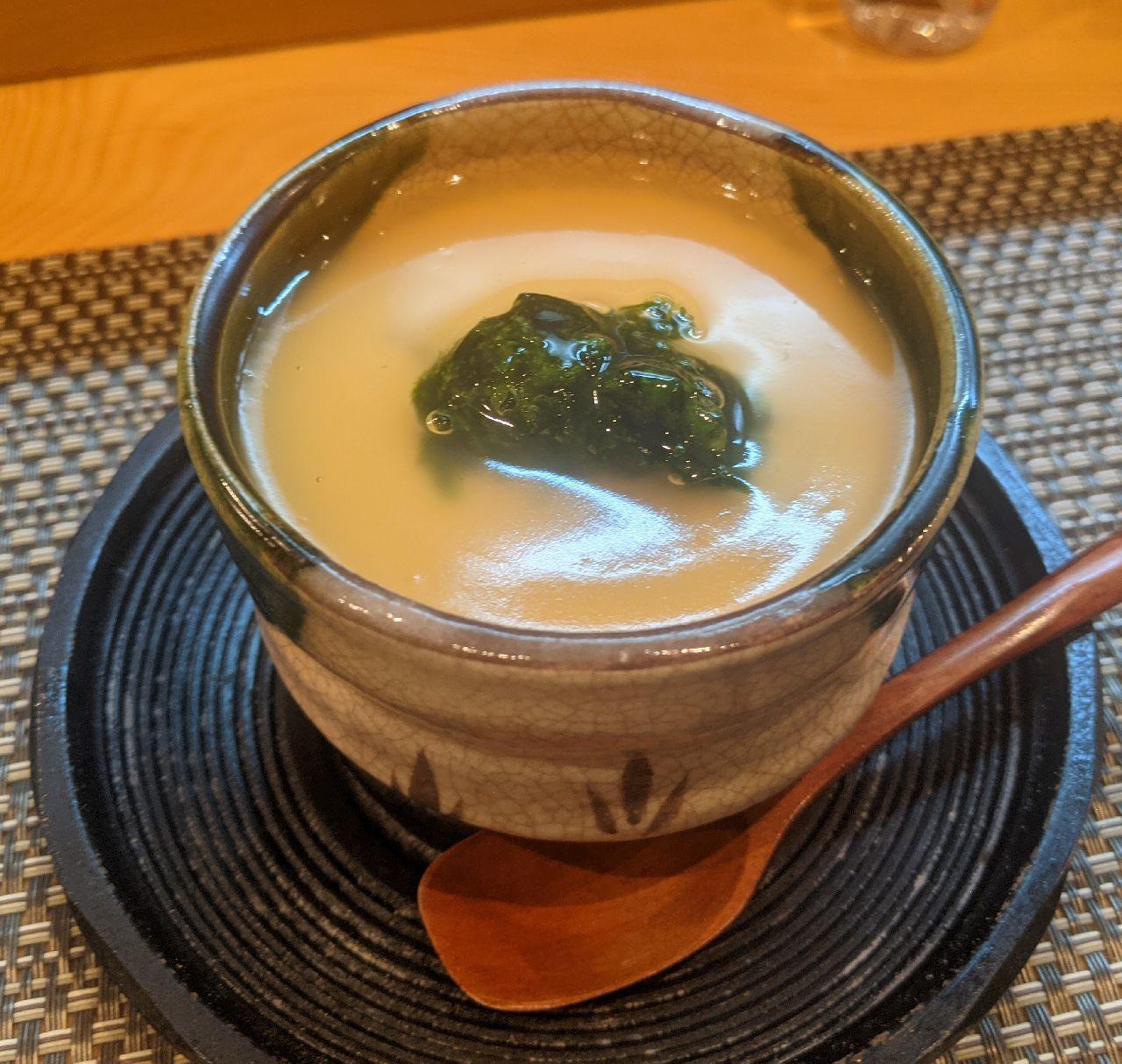 PXL_20210721_100929799河豚の白子茶碗蒸し