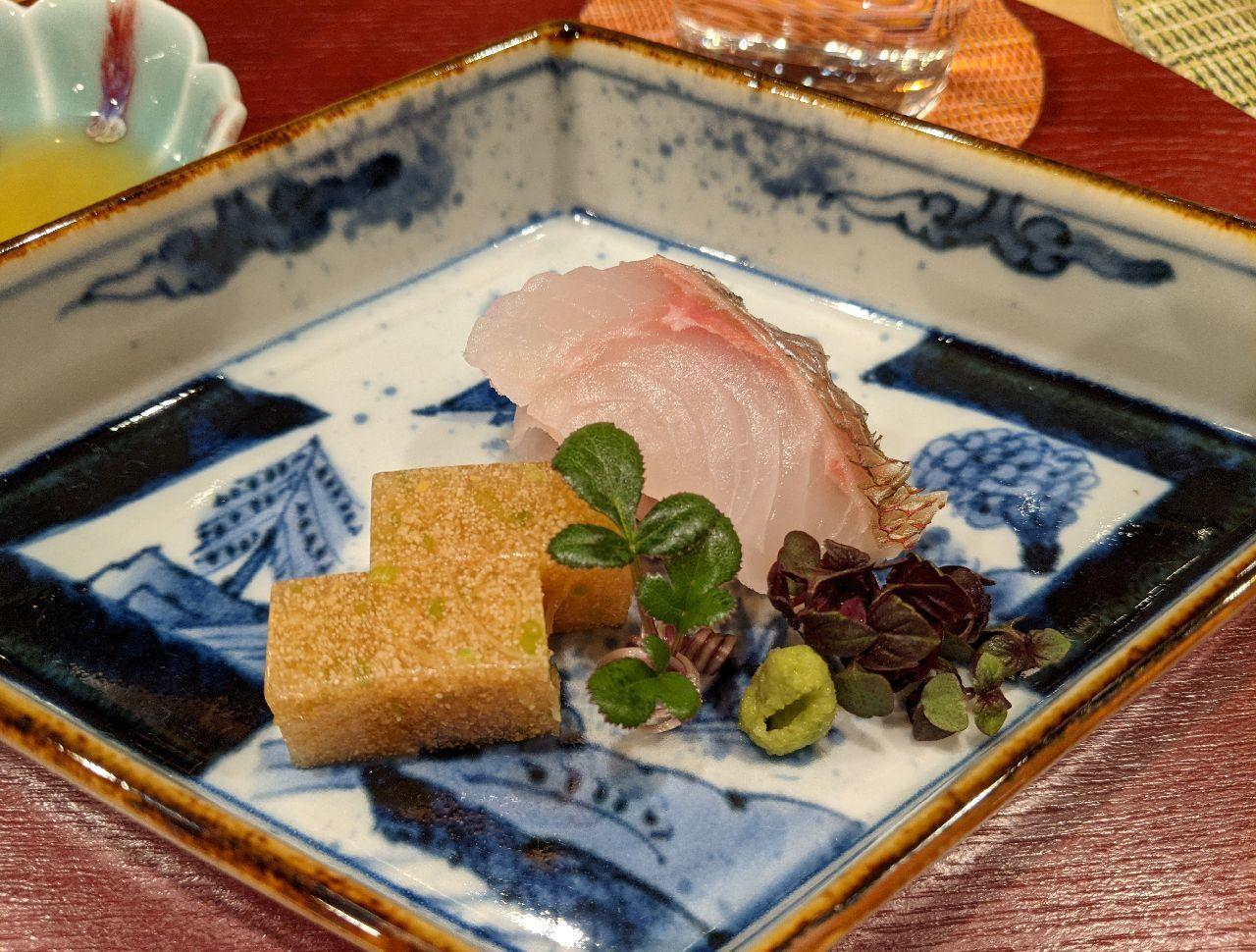 PXL_20210410_093247781淡路島産鯛、鯛の煮凝り