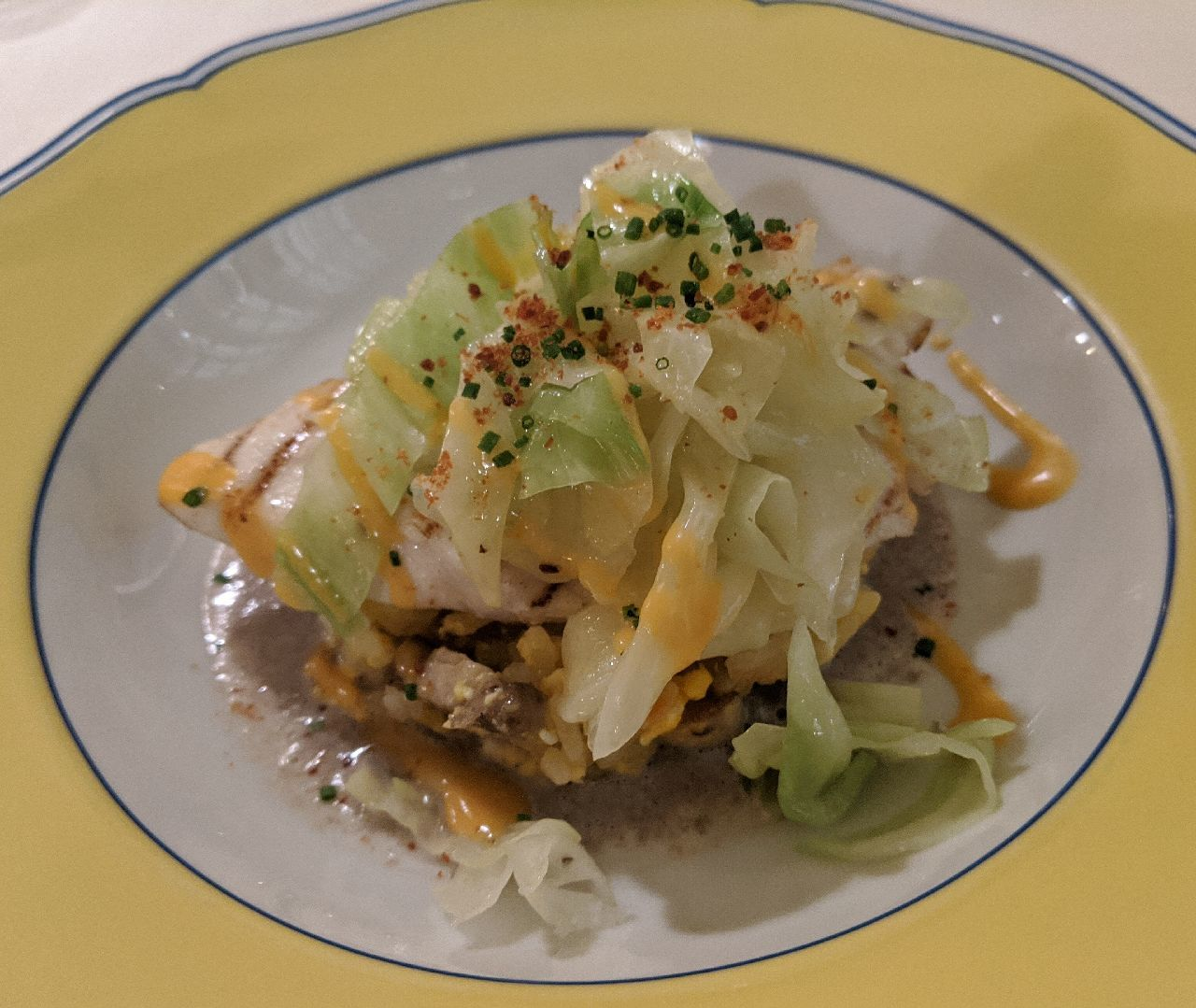 MVIMG_20200530_190058高知県産・メダイの網焼き、乾燥トマト風味、マッシュルームのソテーと卵のピラフのチーズ焼き