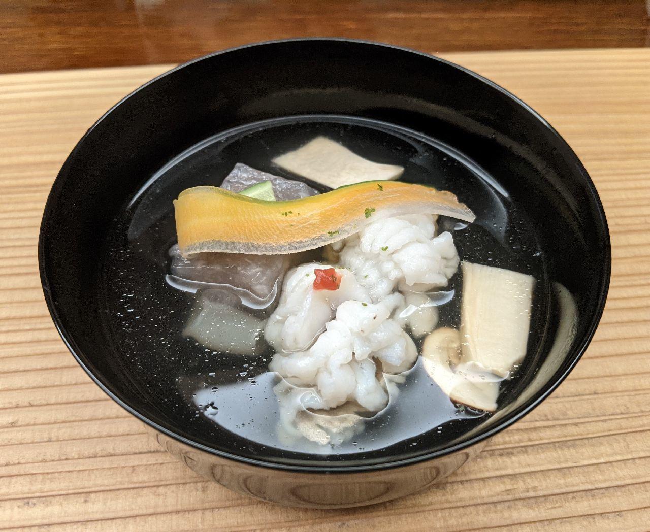 PXL_20210801_032747050鱧とレンコン豆腐