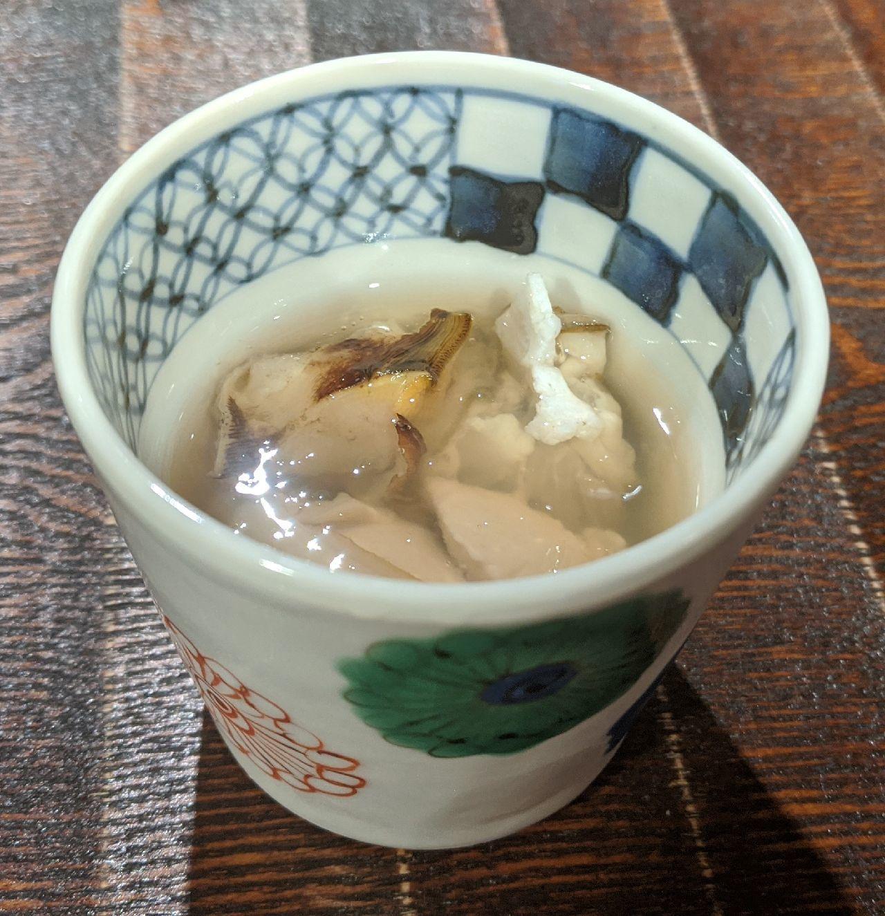 MVIMG_20200926_130328_1仙鳳趾産生牡蠣、サザエ、昆布出汁ジュレ