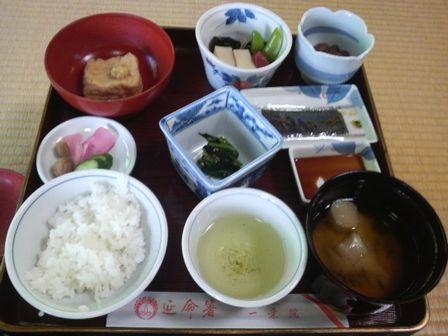 高野山研修06(一乗院:朝食).JPG