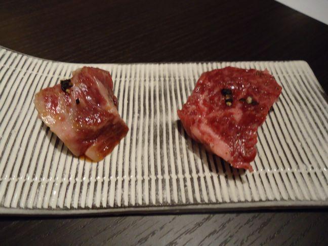 るぶっふ11(特選和牛ハラミを塩とタレの2種で).JPG