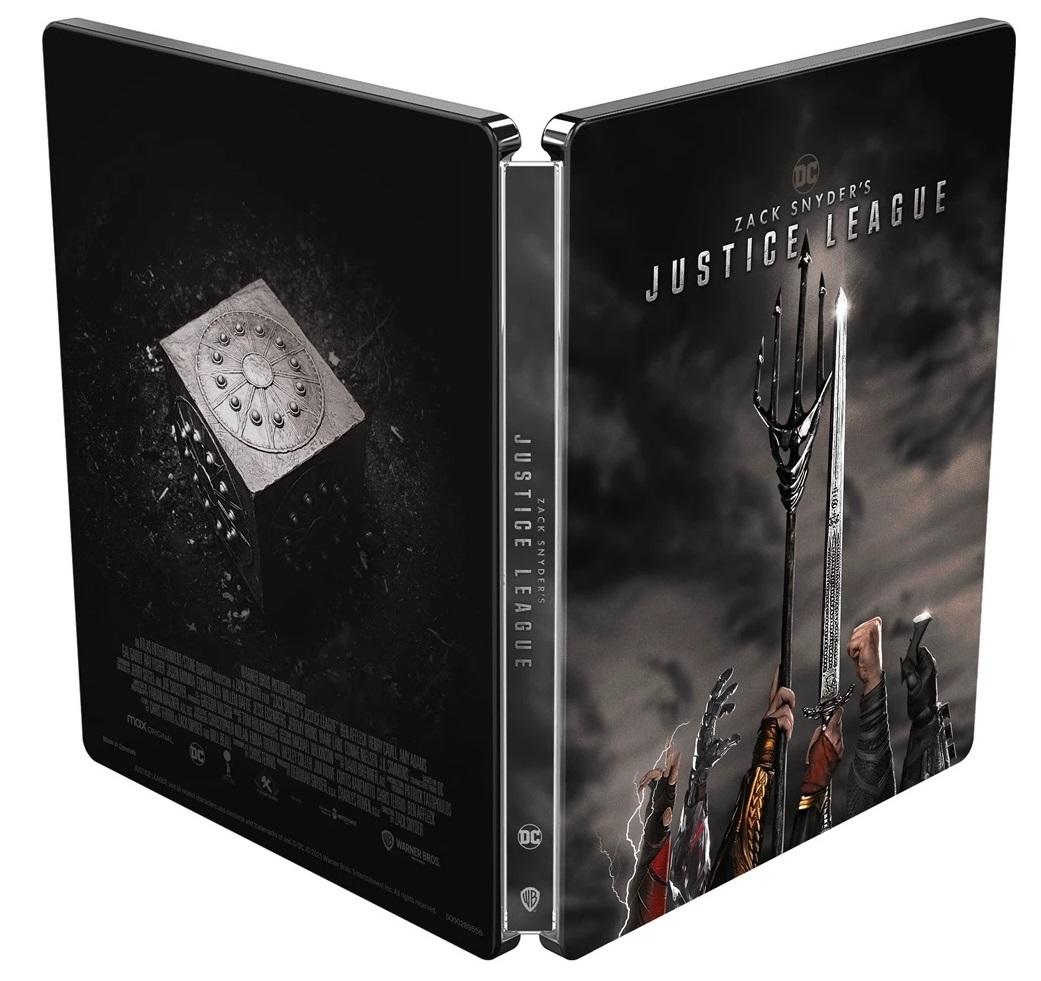 ジャスティス・リーグ:ザック・スナイダーカット スチールブック Amazon.co.jp Japan Zack Snyder's Justice League steelbook