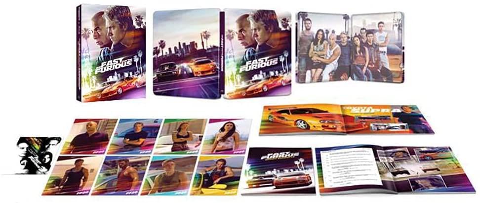ワイルド・スピード 4K Ultra HD+ブルーレイ スチールブック仕様 20周年アニバーサリー・エディション steelbook