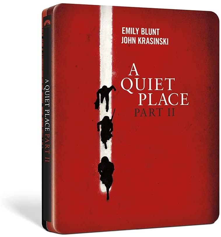 クワイエット・プレイス 破られた沈黙 4K UHD スチールブック A Quiet Place Part II Amazon.co.jp Japan steelbook