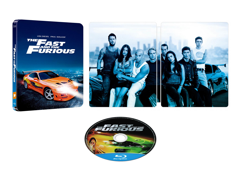 20周年記念 ワイルド・スピード スチールブック Fast and the FuriousJapan steelbook