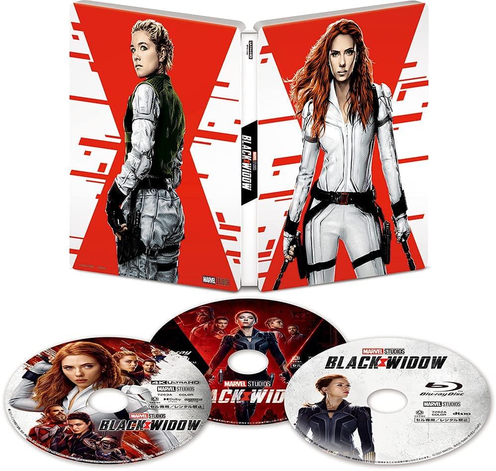 ブラック・ウィドウ Black Widow steelbook 4K UHD MovieNEX スチールブック