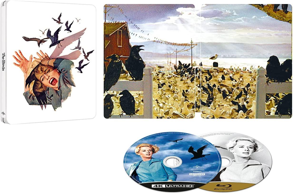 The Birds 鳥 Amazon.co.jp スチールブック steelbook
