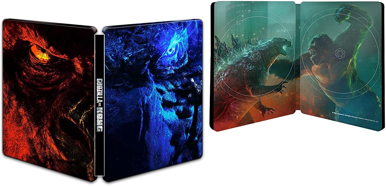 ゴジラvsコング Amazon.co.jp限定 日本オリジナル スチールブック GODZILLA vs KONG steelbook