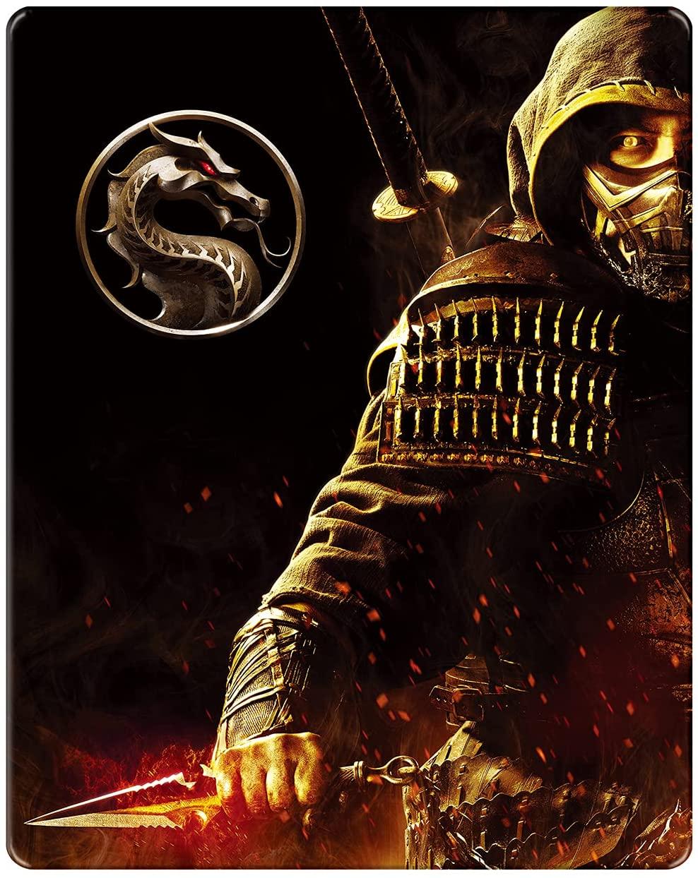 モータルコンバット 4K UHD スチールブック Mortal Combat Japan steelbook