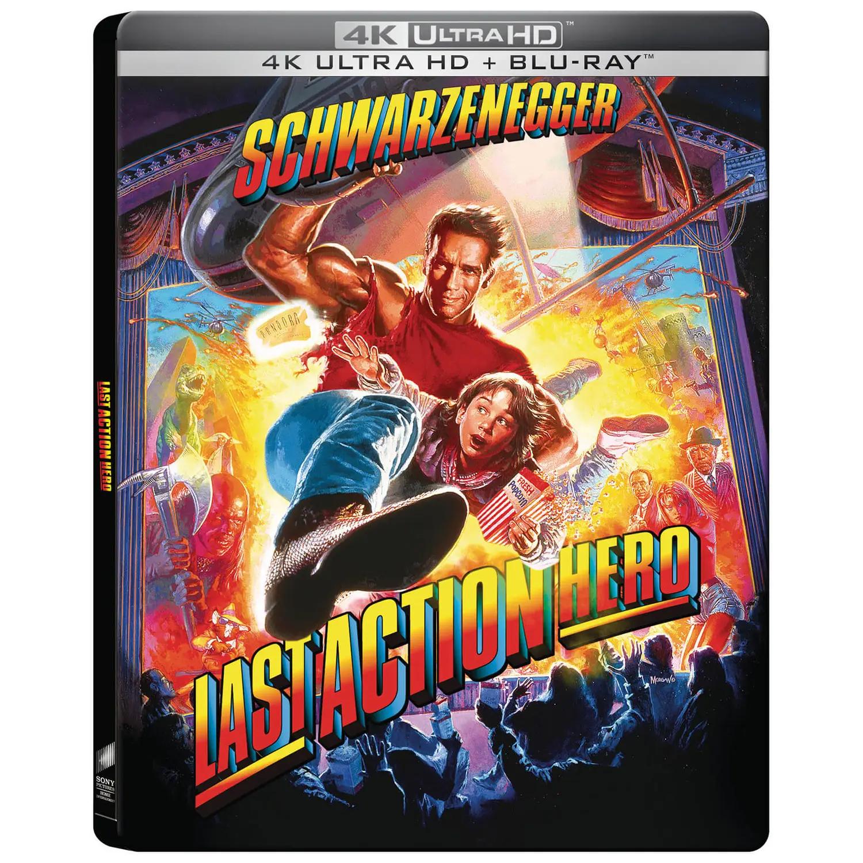 ラスト・アクション・ヒーロー Last Action Hero 4K steelbook zavvi スチールブック