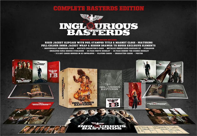 イングロリアス・バスターズ Inglourious Basterds steelbook zavvi スチールブック