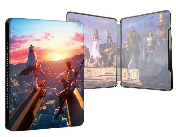 FINAL FANTASY VII ADVENT CHILDREN COMPLETE 4K Ultra HD キャンペーン スチールブック Final Fantasy VII Remake Intergrade steelbook
