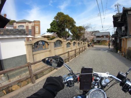 龍野 たつの市 古い町並み 播磨の小京都 龍野城下町 界隈 ハーレー ツーリング