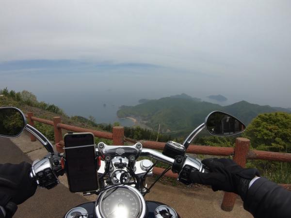 舞鶴ツーリング 空山展望台