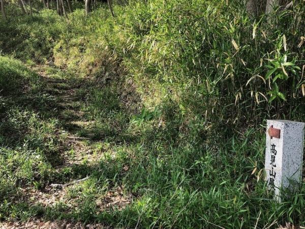 小豆島 絶景&グルメツーリング 高見山公園展望台 ハイキングコース 山道