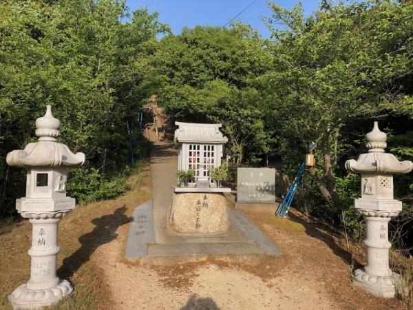 小豆島 重岩 参道 入り口 絶景&グルメツーリング