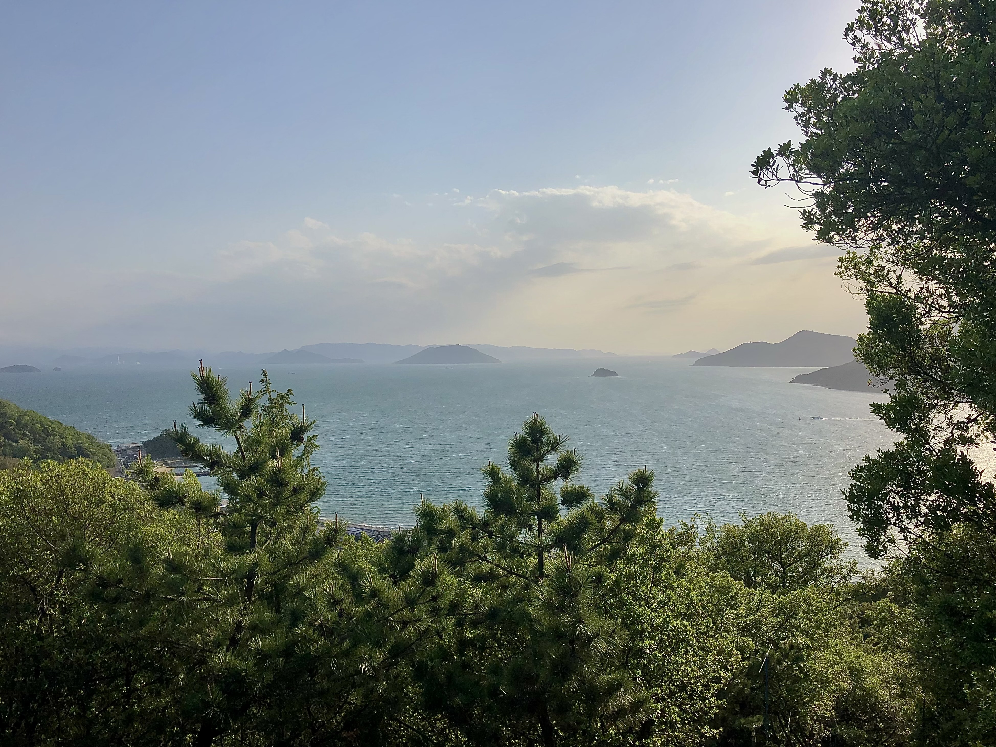 小豆島 重岩 参道 絶景&グルメツーリング 景色 絶景