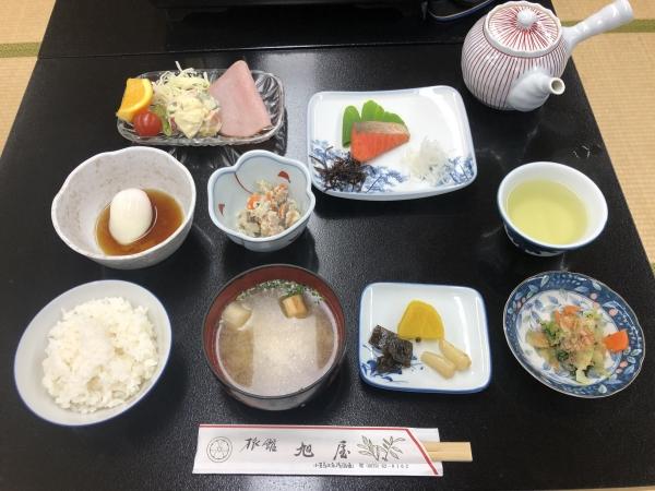 小豆島 絶景&グルメツーリング 旭屋旅館 朝食